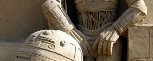 Insanely Detailed Star Wars Sand Sculptures