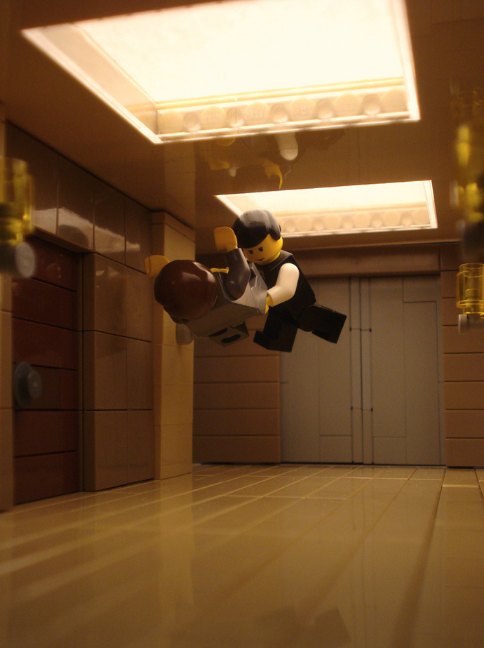 Lego Recreations of Famous Film Scenes