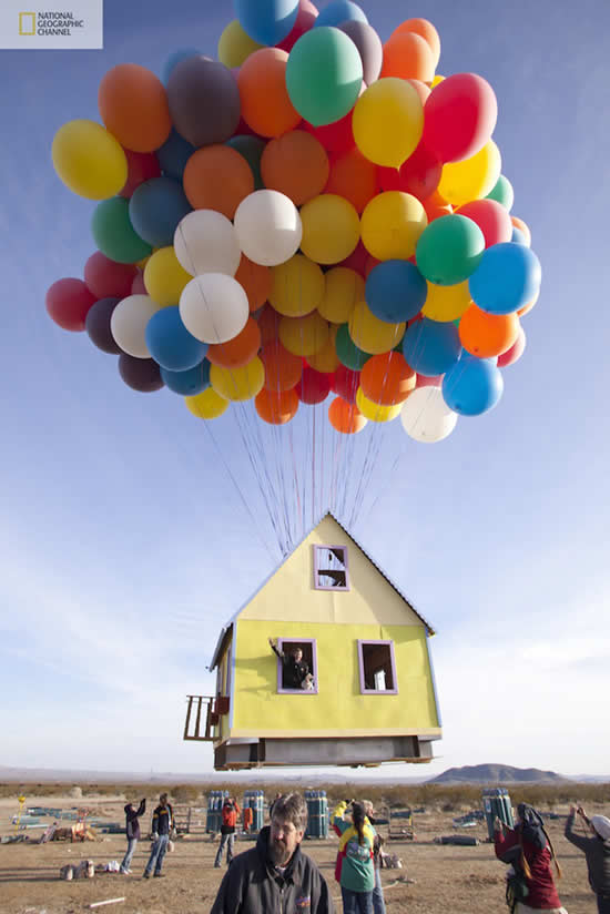 "Recreating the House from Disney – Pixar's ""Up"""