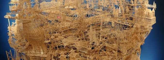 Mind Blowing Toothpick Sculptures