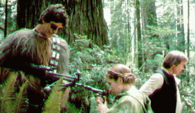 Behind the Scenes Star Wars Photos You Haven't Seen