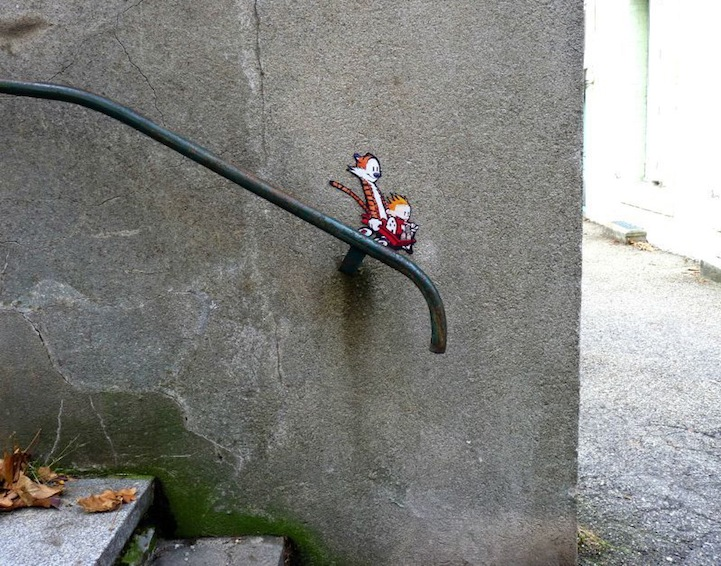 Funny Examples of Cleverly Placed Street Art