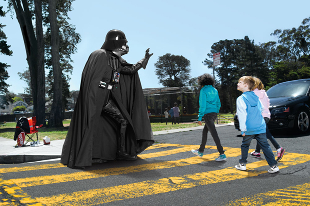 Creative Adidas and Star Wars Collaborative Ads