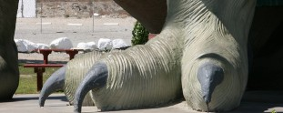 12 Larger Than Life Concrete Dinosaurs