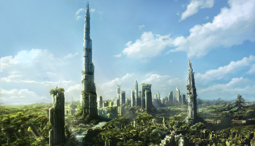 Post Apocalyptic Visions: Real World Cities