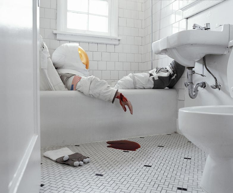 Astronaut Suicides: Startling Photos by Neil Dacosta