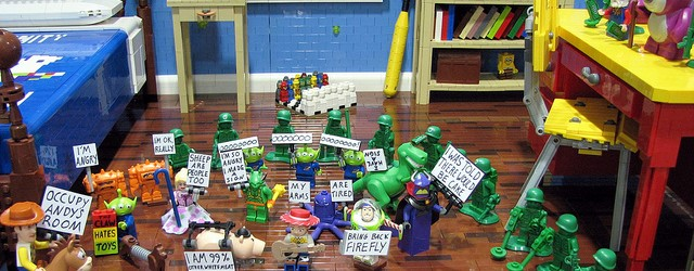 #Occupy Andy&#8217;s Room &#8211; The Toys Protest