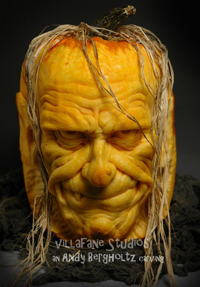 8 Unbelievably Detailed Pumpkin Sculptures
