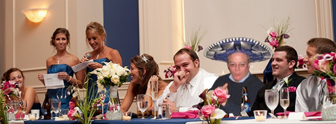 Hilarious Photoshops Ensue After Dad Misses Wedding
