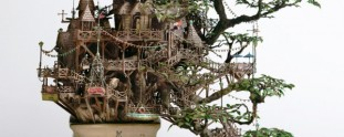 6 Exotic and Intricately Detailed Bonsai Tree Houses