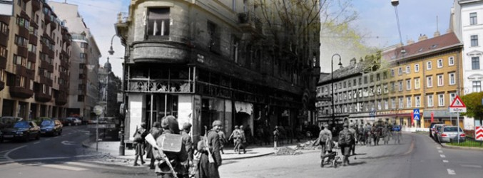 15 Photos of Modern Russia Superimposed After World War II