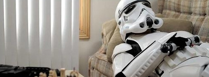 Beyond Star Wars: A Day in the Life of Mr. Stormtrooper