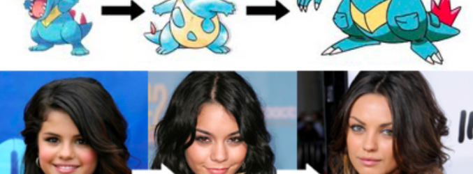 28 Celebrities Who Evolved Like Pokemons
