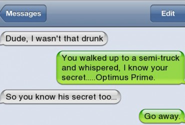 22 Best Drunk Conversations Ever Texted